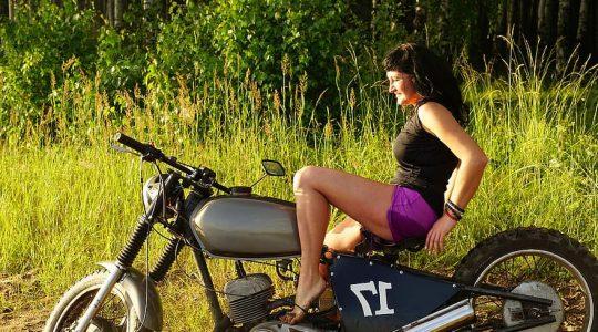 aantal vrouwelijke motorrijders moet stijgen