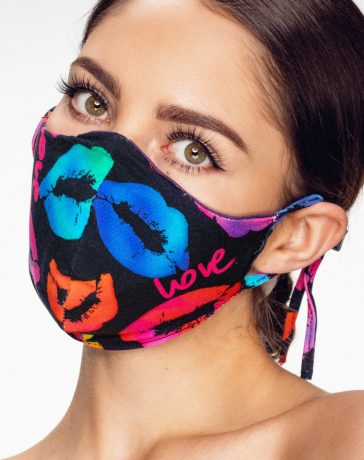 Mondkapjes en make-up dragen
